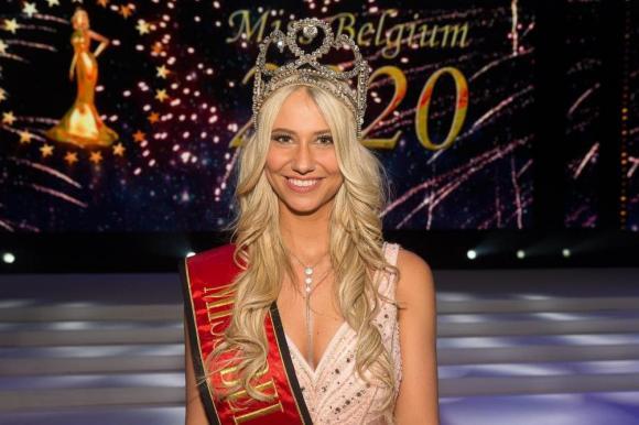 Hoa hậu Bỉ, Hoa hậu Hoàn vũ 2020, Celine Van Ouytsel, dịch Covid-19