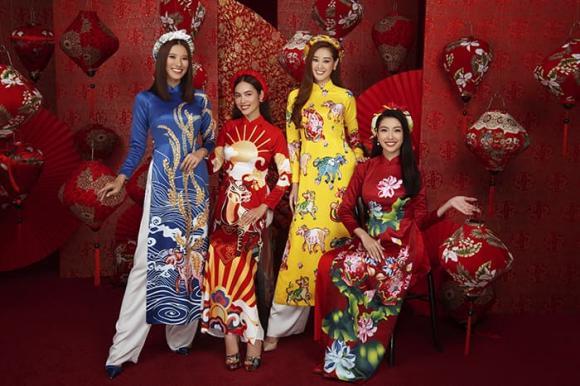 Hoa hậu hoàn vũ, hoa hậu Khánh Vân, á hậu Kim Duyên, á hậu Thuý Vân, á hậu Hoàng My, sao Việt