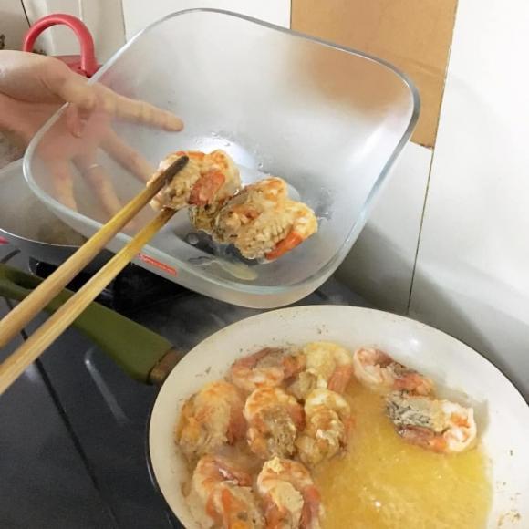 các món ngon từ tôm, phần đầu tôm, món ngon