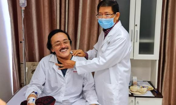 Giang Còi, ung thư, sao Việt
