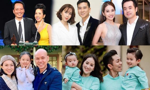 Dương Khắc Linh, Sara Lưu, Hồ Ngọc Hà, Kim Lý, con sinh đôi,