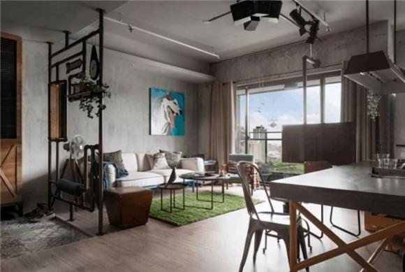 trang trí nhà, nhà thô, nội thất, xu hướng nội thất