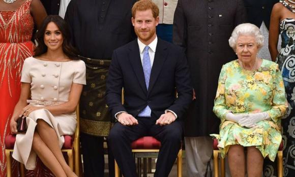 meghan markle, hoàng tử harry, hoàng gia anh