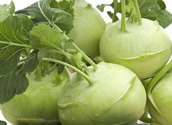 loại rau giúp giảm cân, làm đẹp da, su hào xào