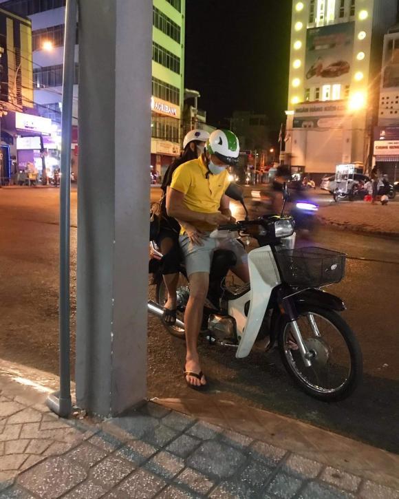 Công Vinh, Thuỷ Tiên, tình tứ, sao Việt
