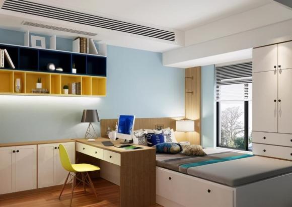 thiết kế nội thất đẹp, những thiết kế giường thông minh, nội thất gia đình