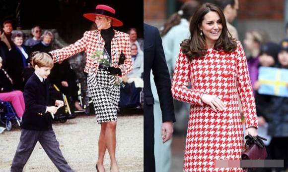 Công nương Kate, Công nương Diana, hoàng gia anh
