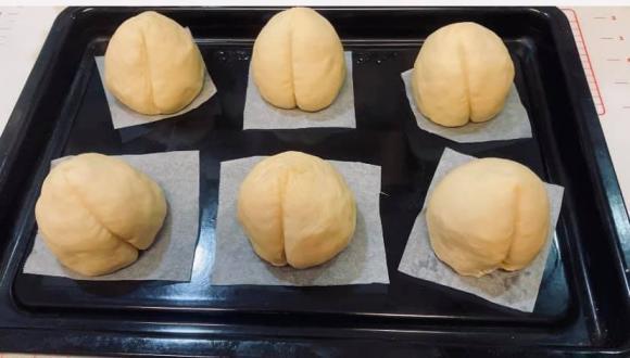 bánh đào tiên, bánh bao đào tiên, bánh bao