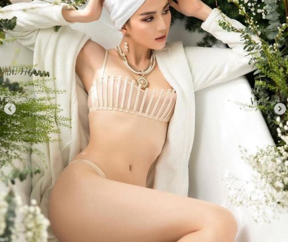 Ngọc Trinh, sao Việt, nữ hoàng nội y, chân dài,