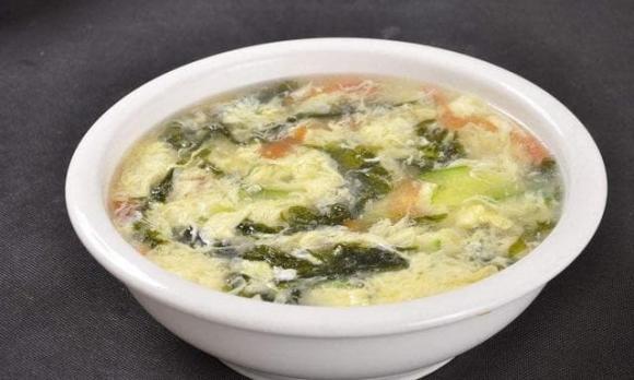 món ngon mỗi ngày, canh rong biển và trứng, ẩm thực gia đình