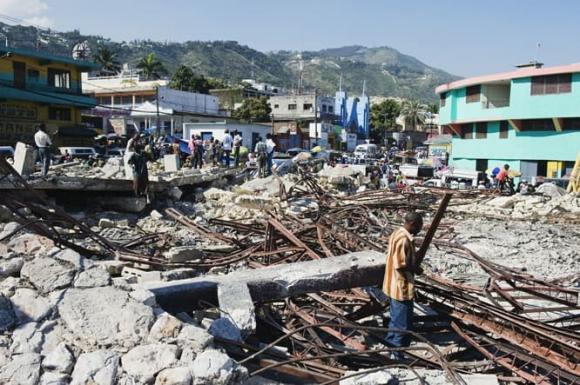 Haiti, quốc đảo, ăn đất