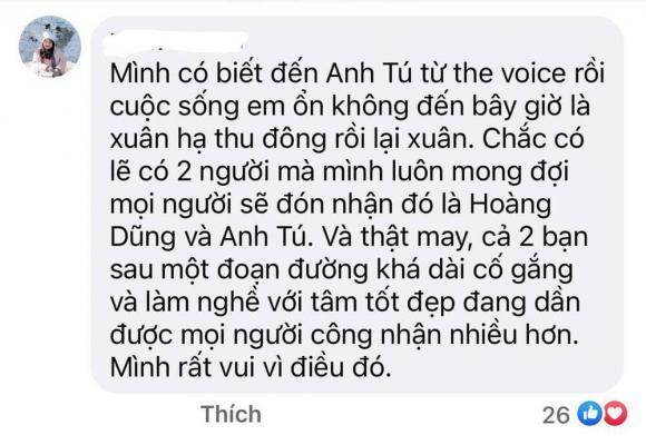 Anh Tú, ca sĩ Anh Tú, sao Việt