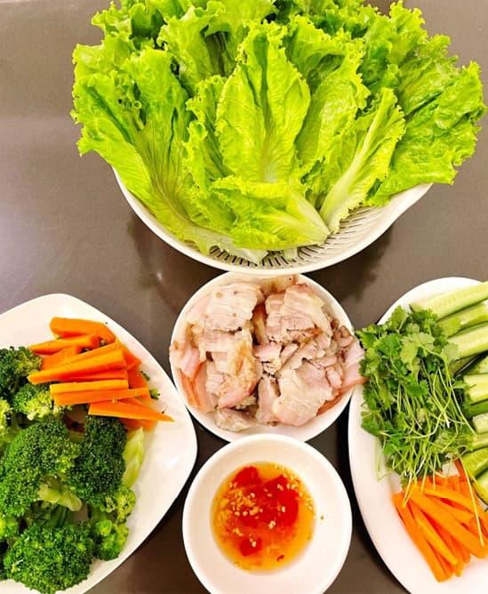 Đỗ Thị Hà, nông dân, rau củ sạch, đảm đang, bếp núc