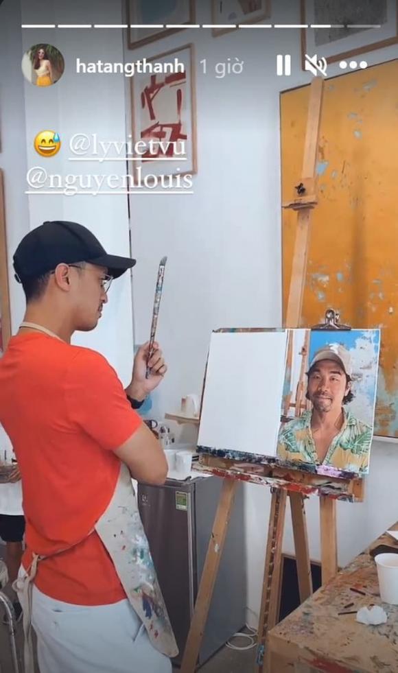 Hà Tăng, hào môn, sao Việt, Louis Nguyễn