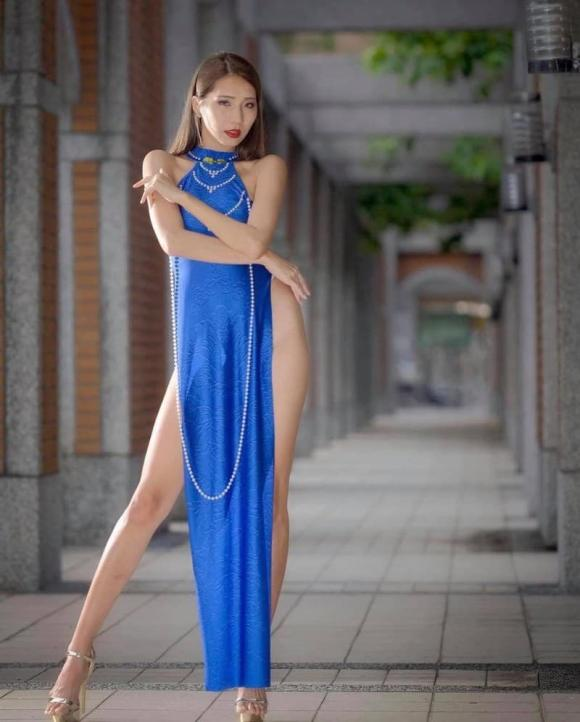 áo dài, người mẫu, thời trang phản cảm, áo dài cách tân