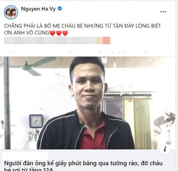 người đàn ông cứu bé gái rơi từ tầng 12, sao Việt, Nguyễn Ngọc Mạnh, Tuấn Hưng, Minh Quân