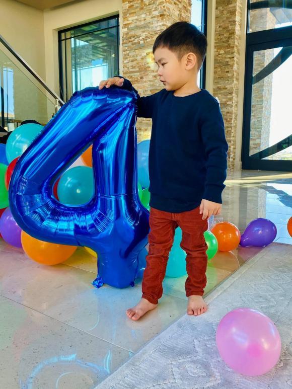 Đan Trường, sinh nhật con trai Đan Trường, sao việt