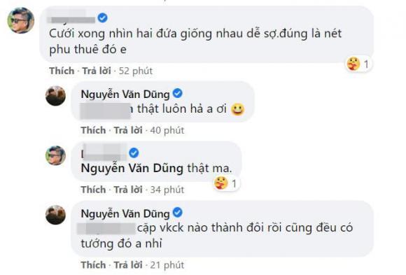 Văn Dũng, Vóc Đỗ, sao Việt