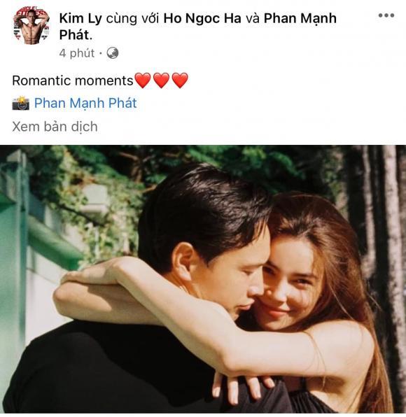 Kim Lý, Hồ Ngọc Hà, sao Việt, tình bể bình, bố mẹ bỉm