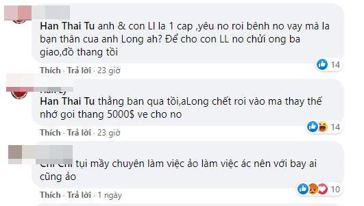 Hàn Thái Tú, Vân Quang Long, sao Việt,