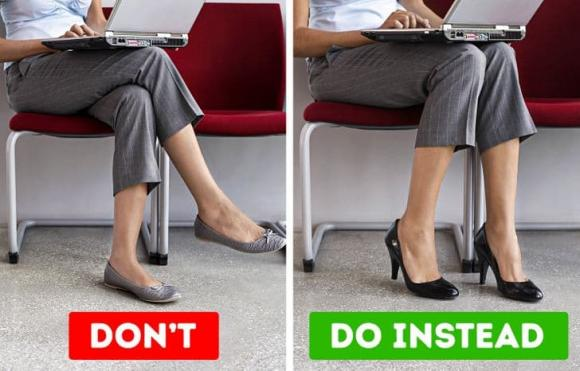 ngồi vắt chéo chân, tác hại của việc ngồi vắt chéo chân, sức khỏe