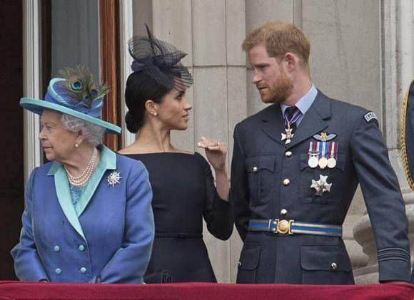 hoàng thân philip, meghan markle, nữ hoàng anh, hoàng gia anh