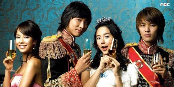 Hoàng cung,Phim remake, phim hàn