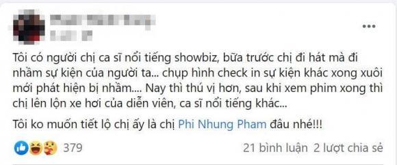 Phi Nhung, sao Việt, Não cá vàng,