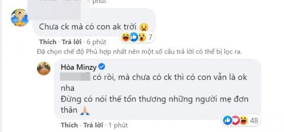 Hòa Minzy, con trai Hoà Minzy, sao Việt