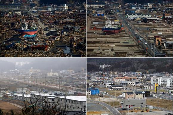 thảm họa động đất, sóng thần ở Nhật Bản, tai nạn,