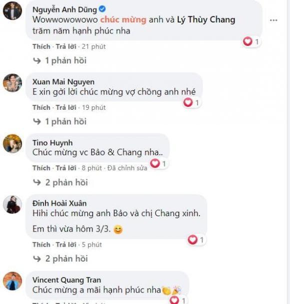 Chi Bảo, Lý Thùy Chang, Kết hôn,
