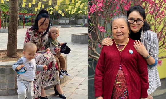 mẹ chồng ca nương Kiều Anh, cô giáo Văn Thùy Dương, ca nương Kiều Anh