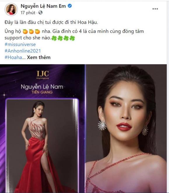 Nam Em, Nam Anh, Nam Anh thi Hoa hậu