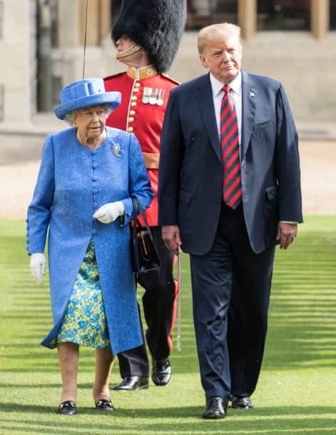 donald trump, meghan markle, nữ hoàng anh