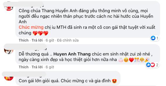Mai Thu Huyền, con gái, sao Việt, lễ trưởng thành