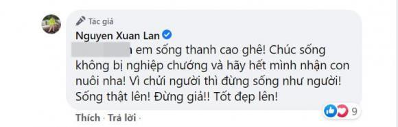 Xuân Lan, NTK Đỗ Mạnh Cường, con nuôi của Đỗ Mạnh Cường