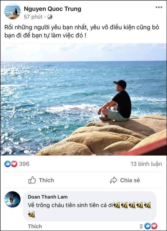 ca sĩ Thanh Lam, nhạc sĩ Quốc Trung, sao Việt