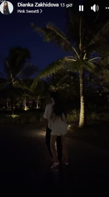 Bùi Tiến Dũng, bạn gái, Dianka Zakhidova, sao Việt