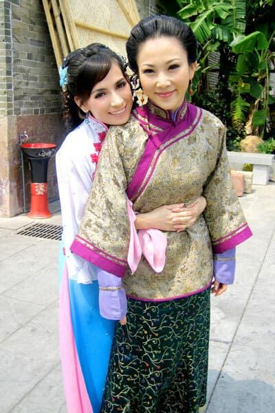 Ca sĩ Phi Nhung, Phi Nhung đóng phim TVB, Sao việt đóng phim cổ trang trung quốc,