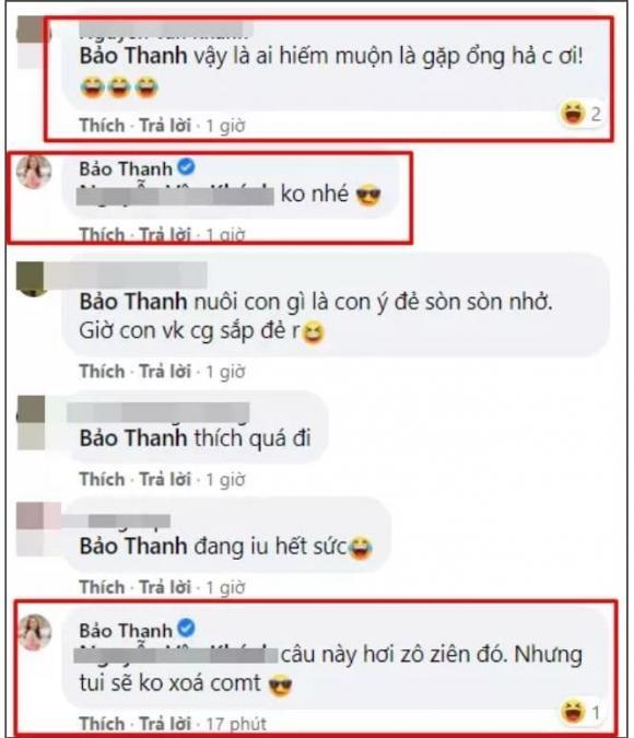 Bảo Thanh, Nữ diễn viên, Sao Việt