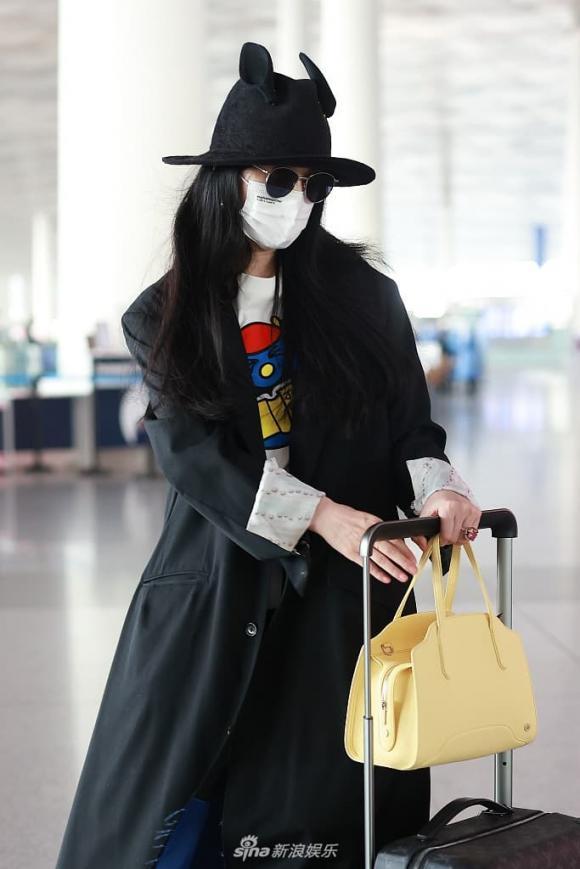 phạm băng băng, thời trang sân bay, sao hoa ngữ