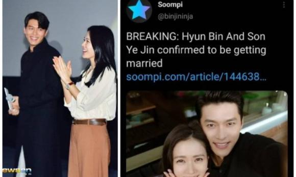 son ye jin, hyun bin, hẹn hò, sao hànson ye jin, hyun bin, hẹn hò, sao hàn