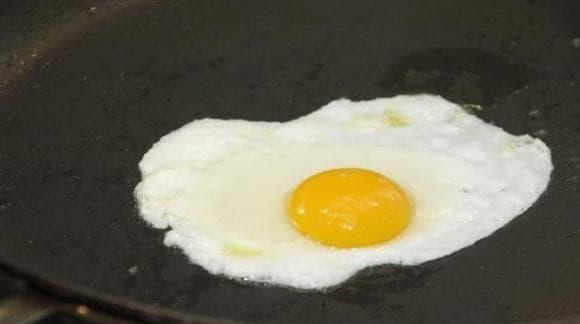 món trứng, dạy nấu ăn, trứng ốp