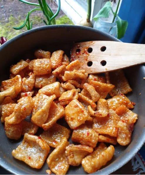 da heo, cách làm da heo nướng, các món ngon từ thịt heo