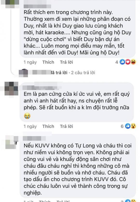 Thanh Duy, Kí ức vui vẻ, Sao Việt