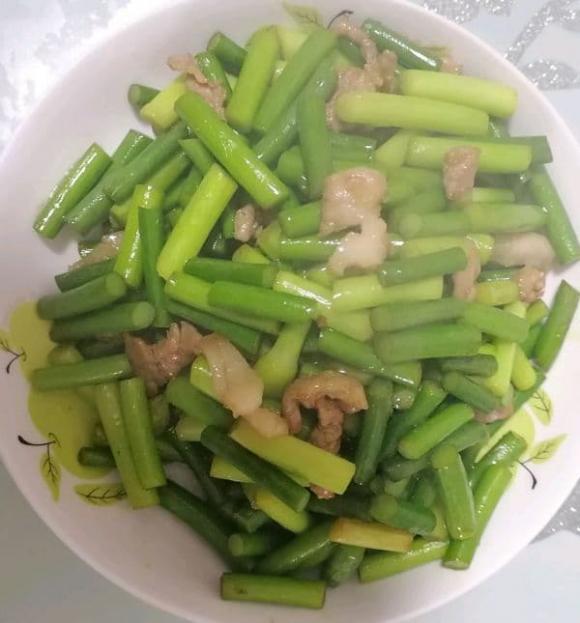 rêu tỏi, dạy nấu ăn