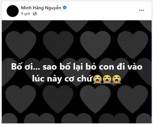 NSND Minh Hằng, bố NSND Minh Hằng qua đời, chồng NSND Minh Hằng