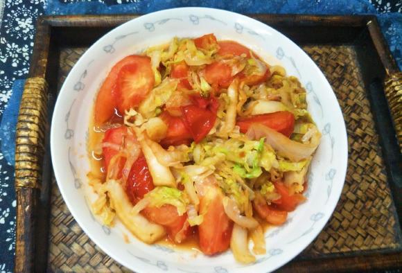 món ngon mỗi ngày, ẩm thực gia đình, bắp cải xào cà chua
