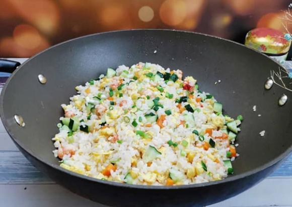Cơm rang thập cẩm, bí quyết nấu ăn, món ăn ngon