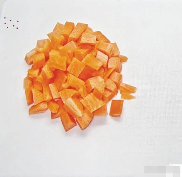 cà rốt, đậu hà lan, dạy nấu ăn